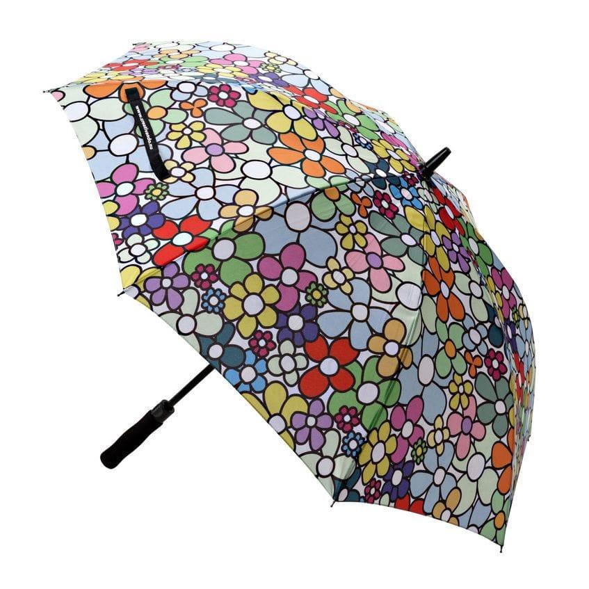 Ombrello con grafica floreale di Carlo Muttoni