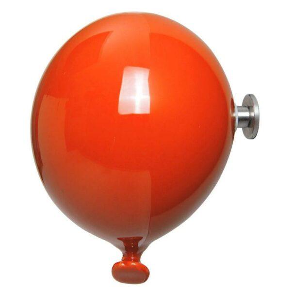 Palloncino in ceramica appendiabiti decorativo miniBalloon arancione