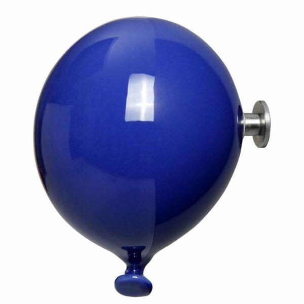 Palloncino in ceramica appendiabiti decorativo miniBalloon blu
