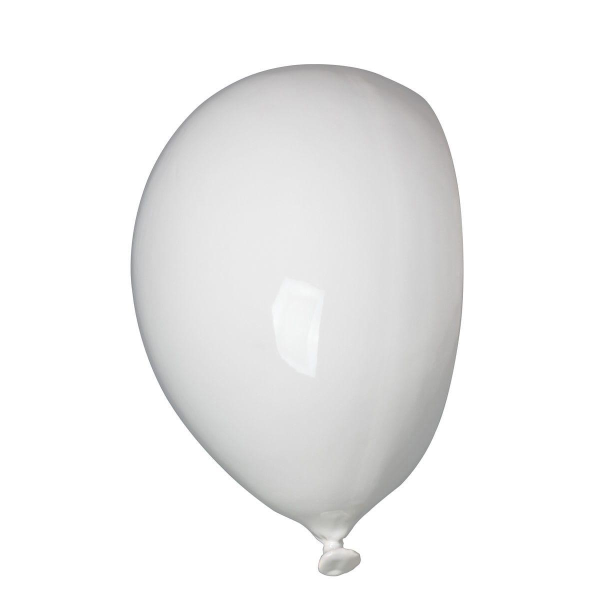 Umidificatore per radiatore in ceramica a forma di palloncino, collezione Balloon, colore bianco