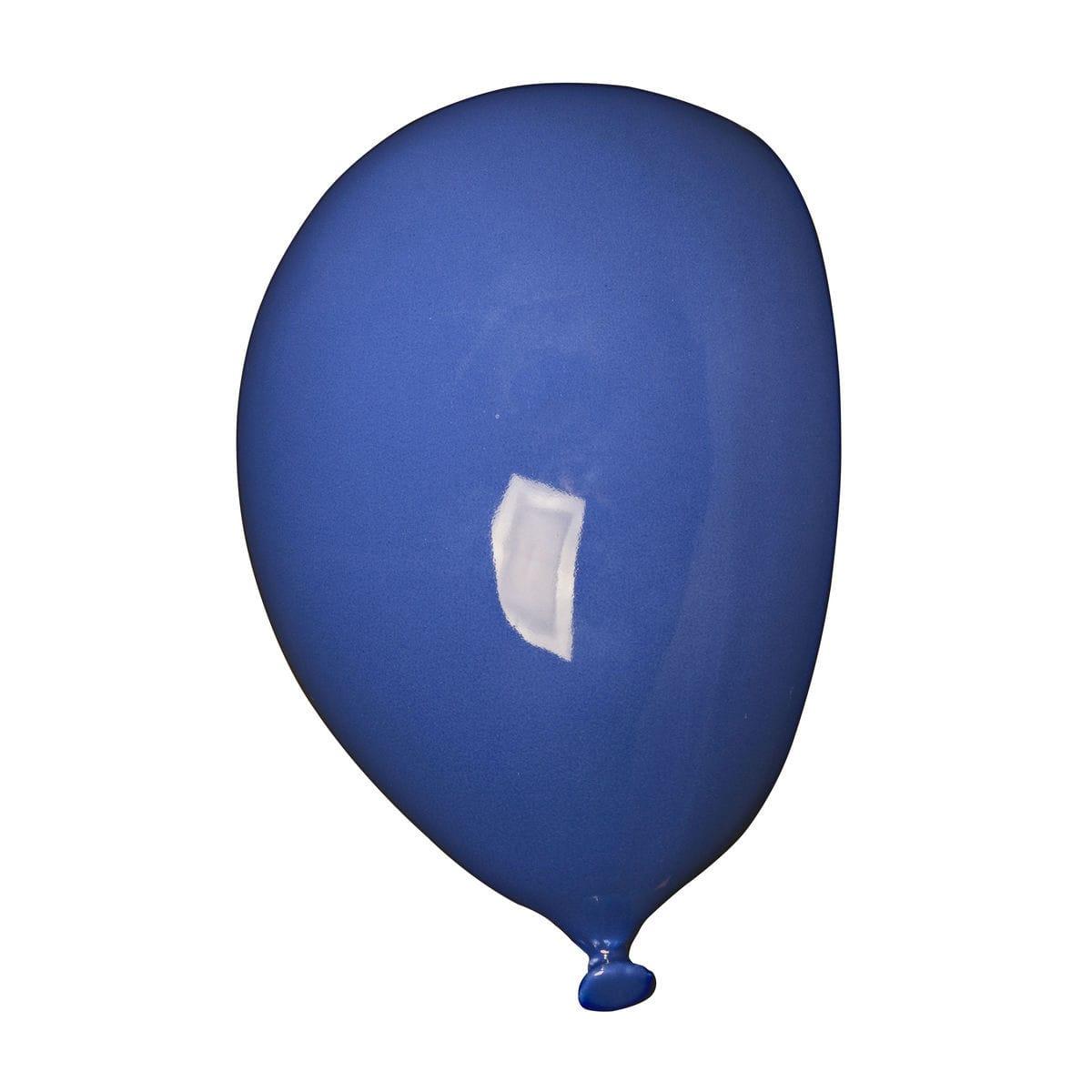 Umidificatore per radiatore in ceramica a forma di palloncino, collezione Balloon, colore blu