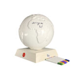 DIY: mappamondo in ceramica da personalizzare secondo la propria creatività