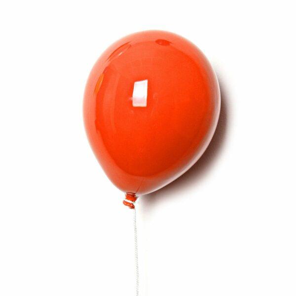 Palloncino decorativo in ceramica Balloon arancione