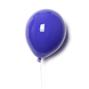 Palloncino decorativo in ceramica Balloon blu
