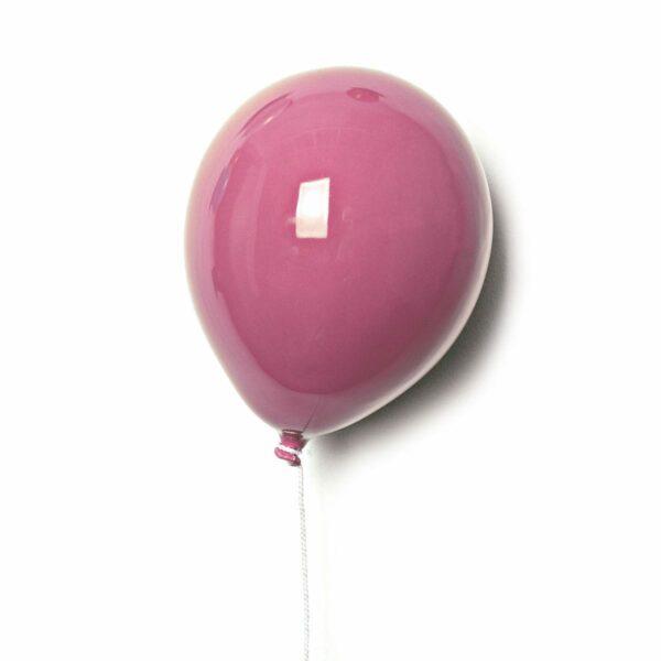 Palloncino decorativo in ceramica Balloon Rosa