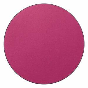 Appendiabiti a forma circolare della collezione Art-Up con pomello in acciaio inox e appendiabiti HPL colore fucsia