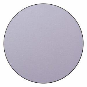 Appendiabiti a forma circolare della collezione Art-Up con pomello in acciaio inox e appendiabiti HPL colore lilla