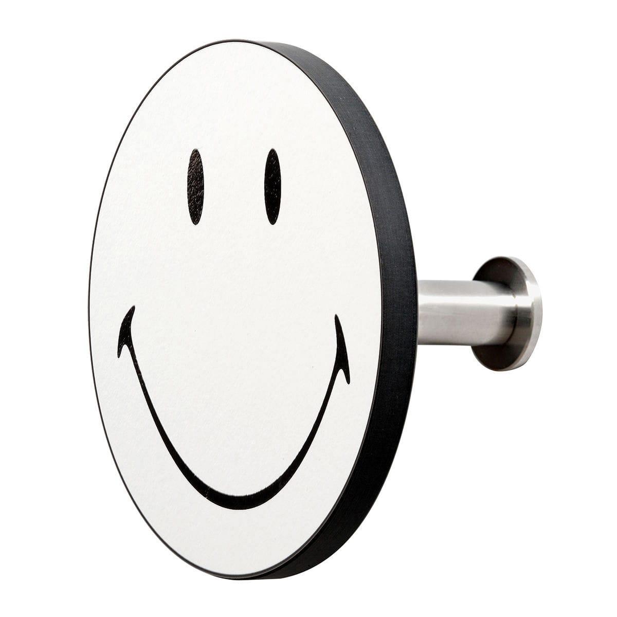 gancio appendiabiti da parete art-up smiley