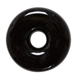 Umidificatore per termosifone in ceramica nero lucido a forma di ciambella, donut