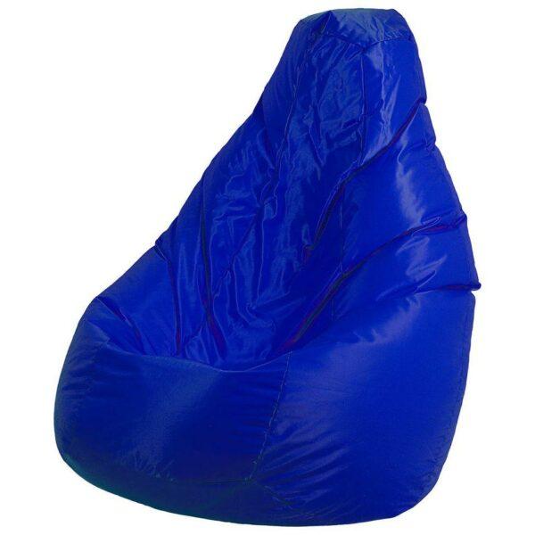 Poltrona a sacco Lolita nylon finitura mano morbida blu