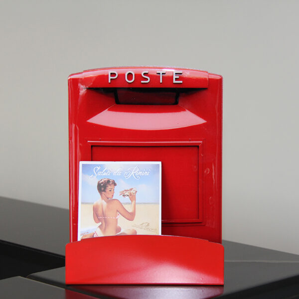 porta lettere a forma di cassetta postale italiana