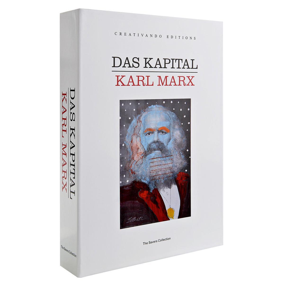 Salvadanaio a forma di libro Das Capital