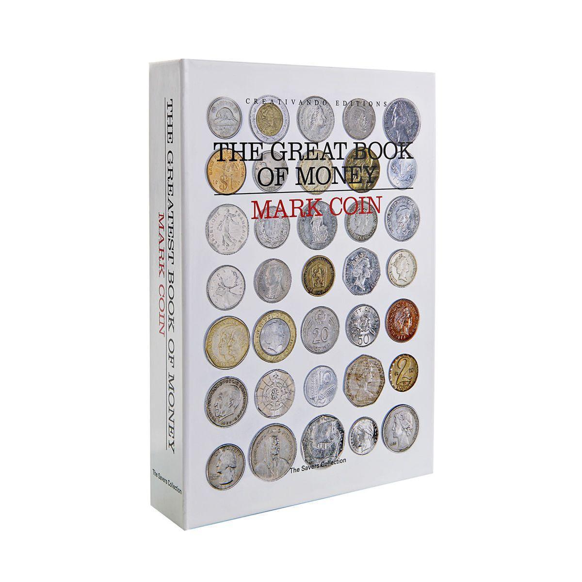 Salvadanaio a forma di libro Book of Money