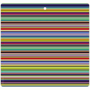 Tovaglietta in PET con righe colorate