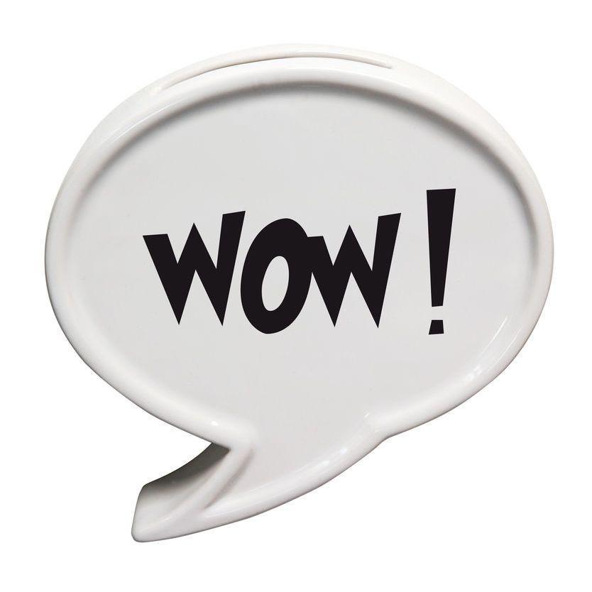 Umidificatore per termosifone in ceramica a forma di fumetto colore bianco