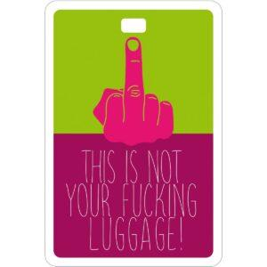 Etichetta bagaglio #MYTAG Fucking Trip