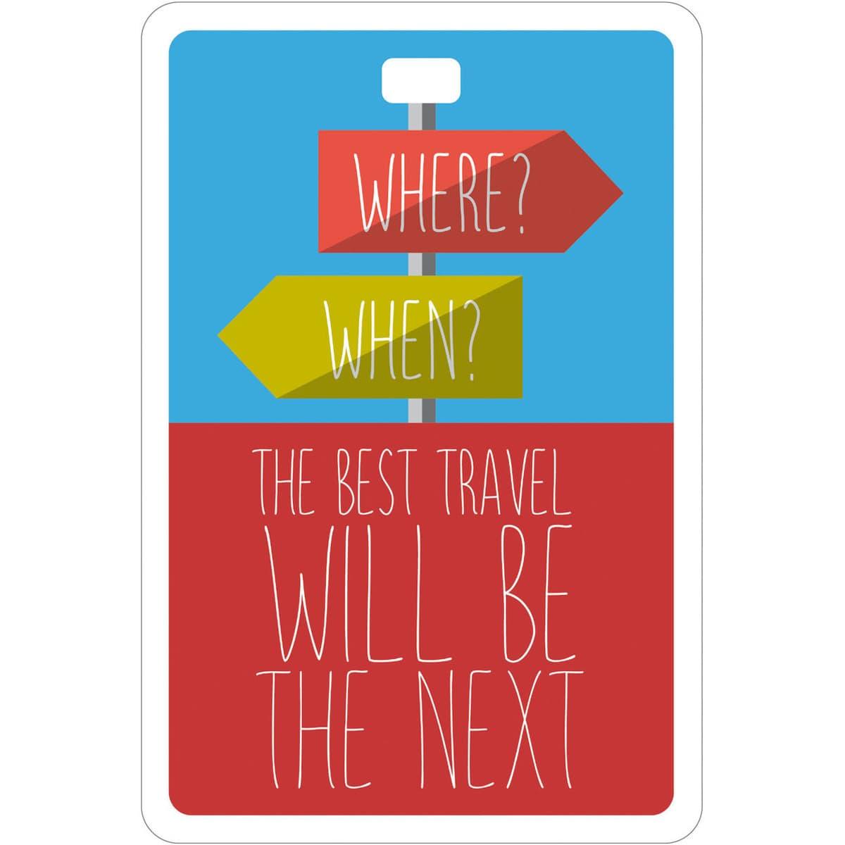 Etichetta bagaglio #MYTAG