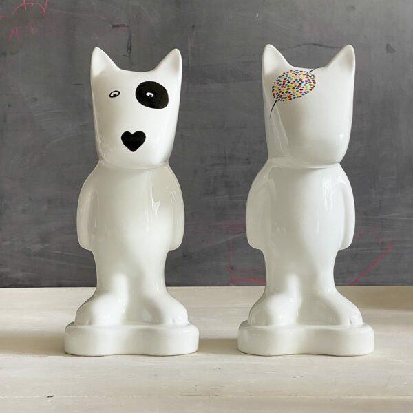 salvadanaio design a forma di cane