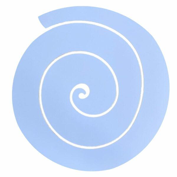 sottopiatto design a forma di spirale